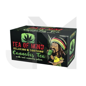 CBD Food & Drink - Cannabis Tea Of Mind (20 Sachets)