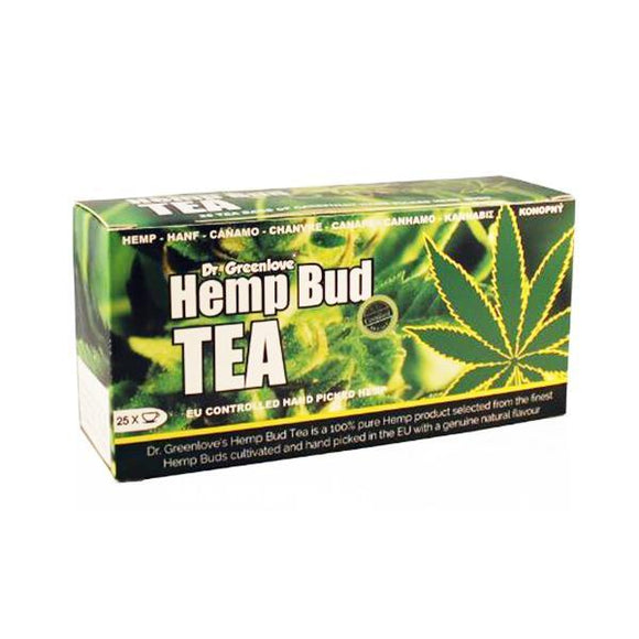 CBD Food & Drink - Dr Greenlove's Hemp Bud Tea