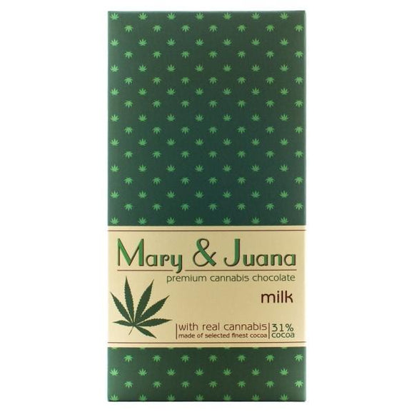 CBD Food & Drink - Euphoria Mary & Juana Milk Chocolate