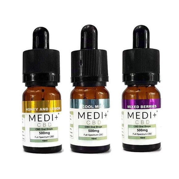 CBD Food & Drink - Medi+ 250mg CBD Oral Drops