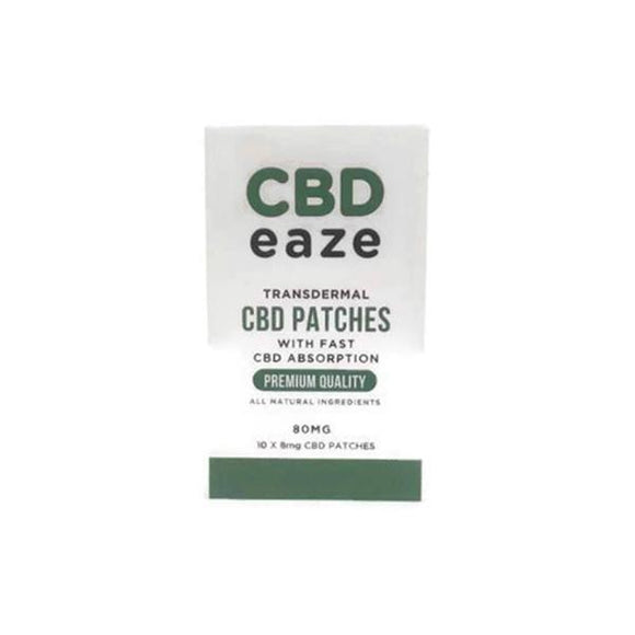 CBD Products - CBD Eaze Trans Dermal 80mg CBD Patches