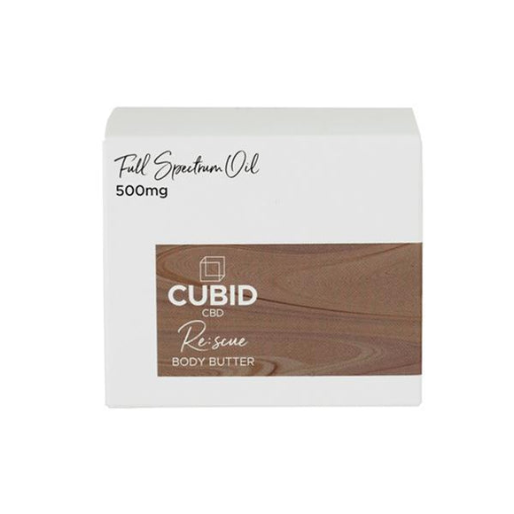 CBD Products - Cubid CBD 500mg Rescue 100ml Body Butter