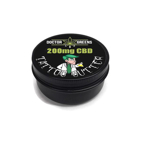 CBD Products - Doctor Green's Tattoo Butter 200mg CBD 20ml
