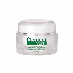 CBD Products - Element Vert CBD Anti-Aging Cream With Apple Stem Cells 30ml