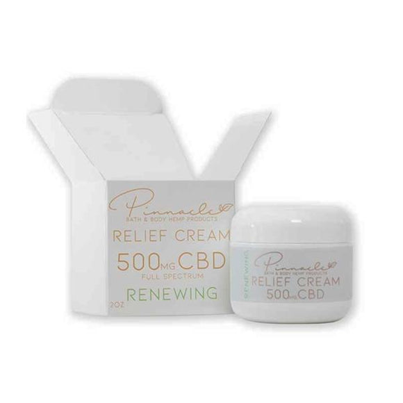 CBD Products - Pinnacle Hemp Full Spectrum Relief Cream 500mg CBD