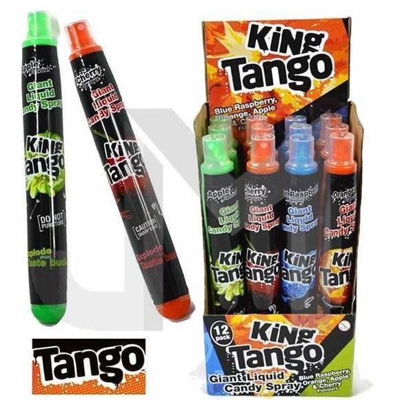Confectionery - King Tango Giant Mixed Fruit Liquid Spray