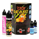 E-liquids - Beast By Big Mouth 0mg 60ml Shortfill (70VG/30PG)