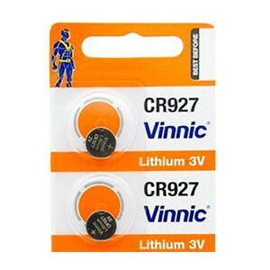 Electronic & Mobile Accessories - Vinnic CR927 3V Battery