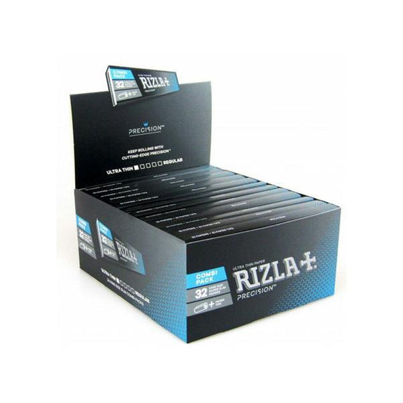 Smoking Products - 24 Rizla Precision Ultra Thin King Size Slim Papers + Tips Eco-Slim