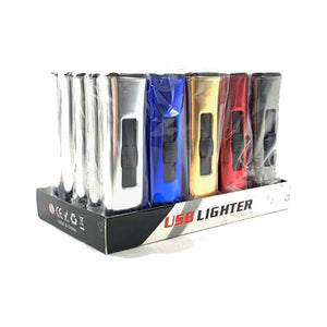 Smoking Products - 25 X USB Lighter Display Pack