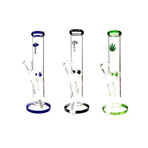 "Smoking Products - 3 X 16"" TRUE Tall Glass Bong - GWP-27"