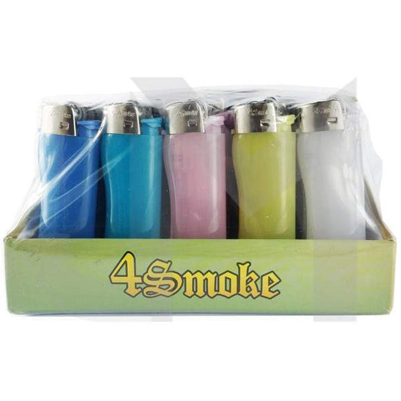 Smoking Products - 4Smoke Fluorescent Flint Lighters