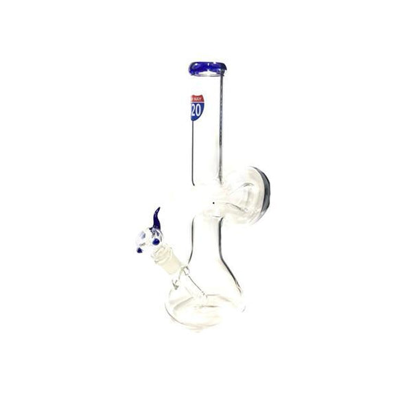 Smoking Products - 6 X Highway 420 Small Zong Glass Bong - GG28