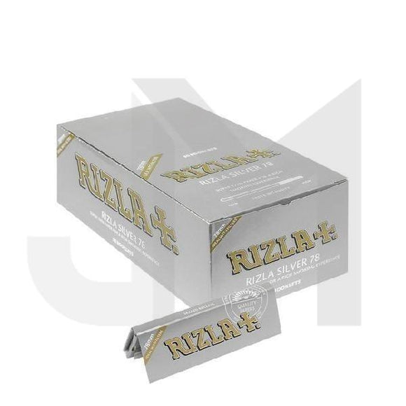 Smoking Products - Rizla Silver Regular Rolling Paper