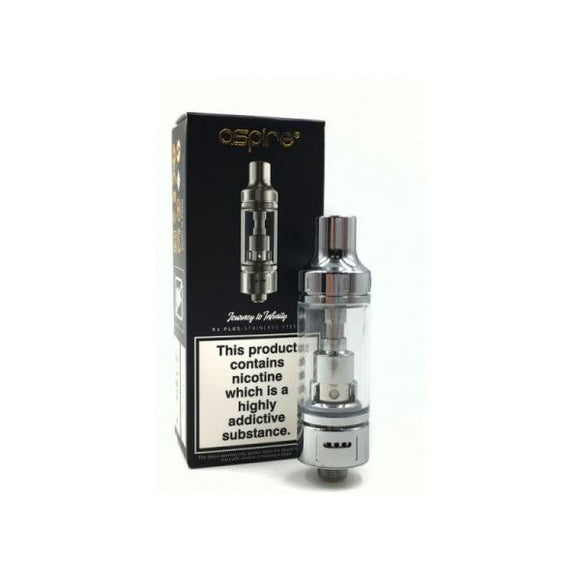 Tanks - Aspire K1 Plus Stainless Steel Tank - 1.8 Ohm