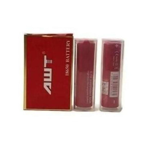 Vape Batteries - AWT 18650 3000mAh Battery + Battery Case