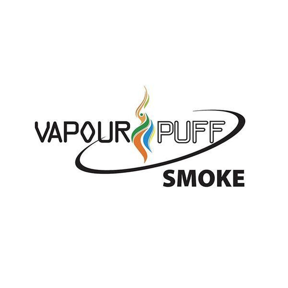 Vaping Products - 10 X Vapour Puff 12MG 10ML E-Liquid (50VG/50PG)