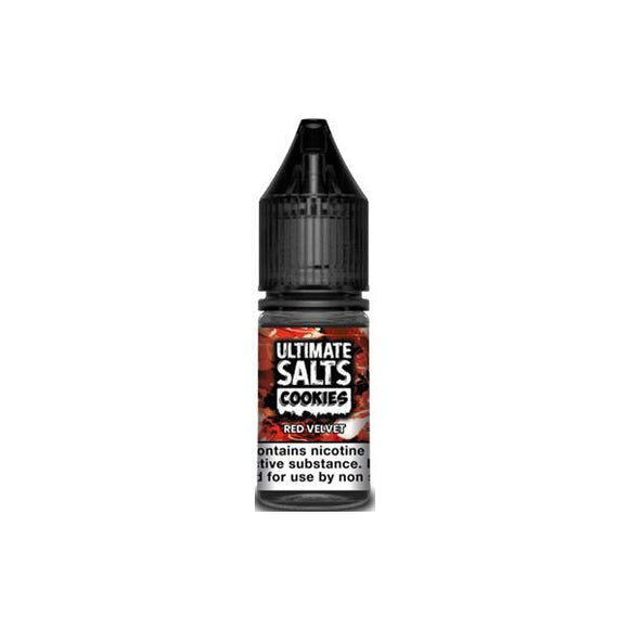 Vaping Products - 10mg Ultimate Salts Cookies 10ML Flavoured Nic Salts (50VG/50PG)