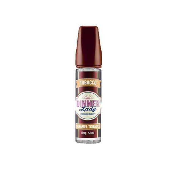 Vaping Products - Dinner Lady Tobacco 0mg 50ml Shortfill (70VG/30PG)