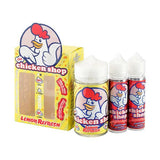 Vaping Products - The Chicken Shop 0mg 200ml (70VG/30PG) + Free 2 X 60ml Empty Bottles