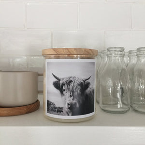 The Highland Cow Soy Candle - Commonfolk Collective