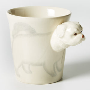Maltese Tail Wagger Mug - Jones & Co