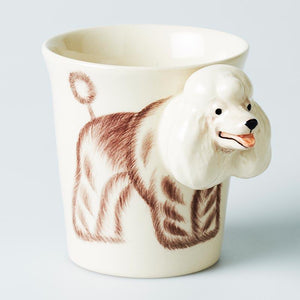 Poodle Tail Wagger Mug - Jones & Co