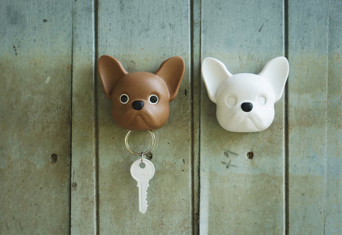 Frenchie Dog Key Holder