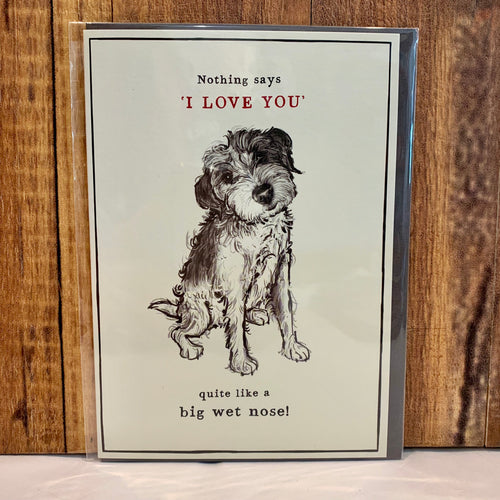 The Thing About Dogs - Greeting Cards