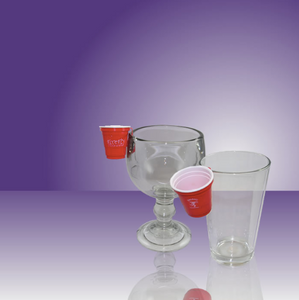 Red Solo Cup Shot Hanger