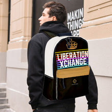 Load image into Gallery viewer, Liberation Xchange Colorway Print Leather Backpack