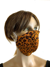 Load image into Gallery viewer, Wild Cheetah - Designer Fashion Face Mask