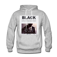 "Load image into Gallery viewer, ""Black Business' Men's Hoodie"