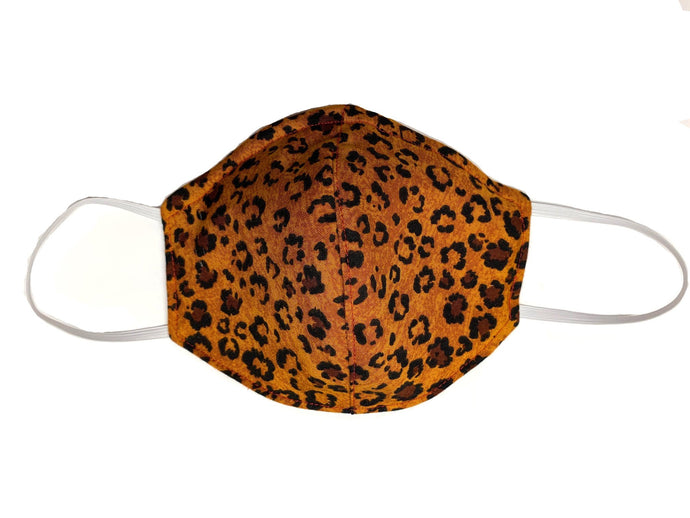 Wild Cheetah - Designer Fashion Face Mask