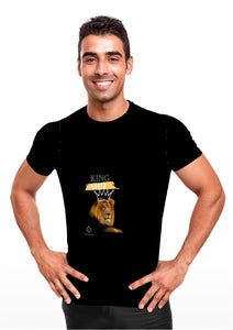 'King Sh!t' Unisex Solid Black T-shirt