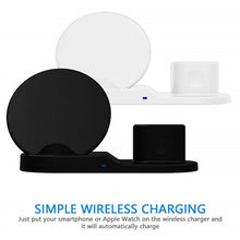 Load image into Gallery viewer, 3 IN 1 Fast Wireless Charger For Iphone X XS XR 8 Plus, Apple Watch, Airpods