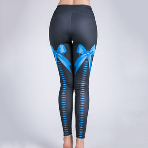 Sexy Bow Knot Print Leggings