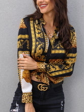 Load image into Gallery viewer, Elegant Loose Leopard Print Women Blouse