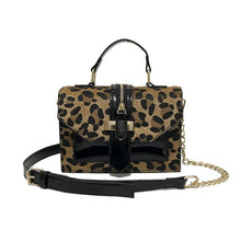 Load image into Gallery viewer, High Quality PU Leather, Leopard Print Handbags