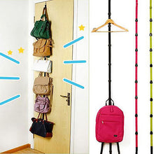 Load image into Gallery viewer, Adjustable Over The Door Hanger For Hats, Bags, Coats, & More!