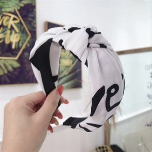 Fashion Wide-brimmed Headband Woman Accessory