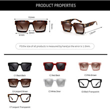 Load image into Gallery viewer, 2020 Luxury Designer Thick Frame Square Sunglasses