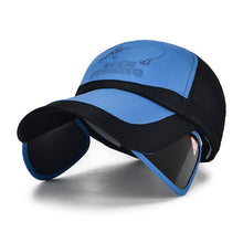 Load image into Gallery viewer, Summer Sun, Wide Brim Hats w/ UV Protective Visor