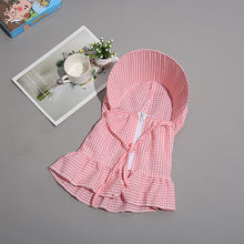 Load image into Gallery viewer, New Women Multi Function Anti-UV Summer Striped Wide Brim Visor