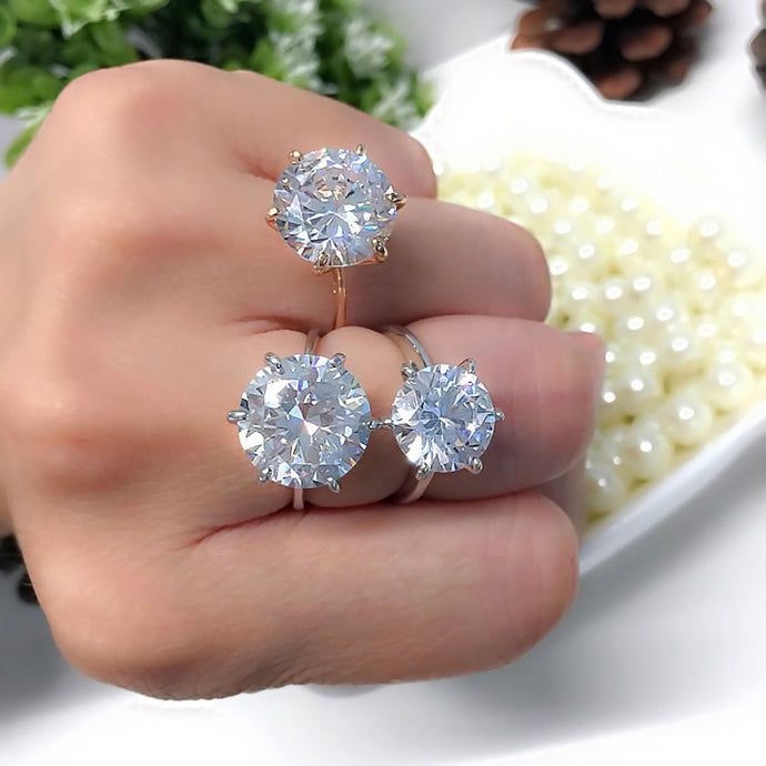 Crystal Special Occasion Fashion Rings