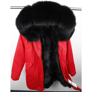 Luxury Fur Winter Coats