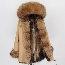 Load image into Gallery viewer, Luxury Fur Winter Coats