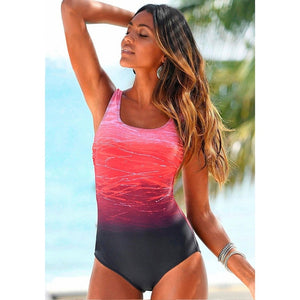 One Piece Swimsuit (Criss Cross Back)