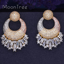 Load image into Gallery viewer, Luxury  Crystal Designer Earrings For Special Occasions
