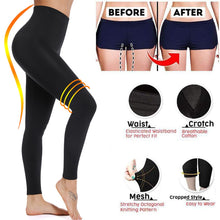 Load image into Gallery viewer, Black Sculpting Yoga Pants  *US Shipper